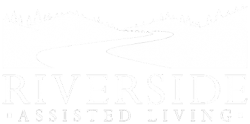 Riverside Assisted Living Logo in White